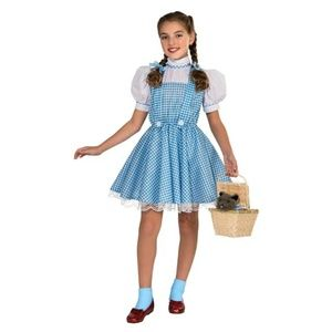 The Wizard of oz girls Dorothy costume
